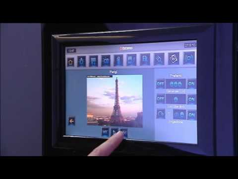 Schema Collegamento Bticino 5860 : Bticino my home u2013 multimedia touch screen nutesla the informant