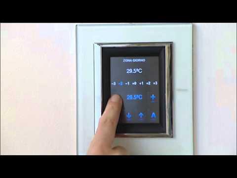 Schema Collegamento Bticino 5860 : Bticino my home u2013 touch screen nutesla the informant