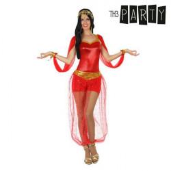 Fantasia para Adultos Árabe Vermelho XL
