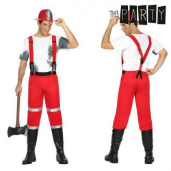 Costume for Adults Fireman M/L