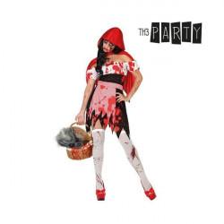 Costume per Adulti Cappuccetto rosso sanguinario XS/S