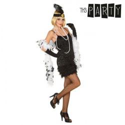 Costume for Adults Charleston Black XL