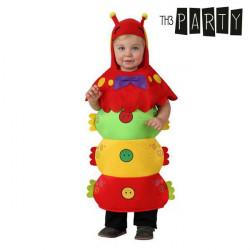 Costume per Neonati Verme 0-6 Mesi