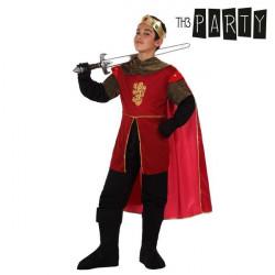 Costume per Bambini Th3 Party Re medievale 7-9 Anni