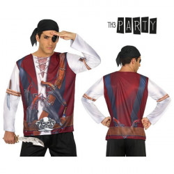 T-shirt pour adultes Th3 Party 7659 Homme pirate