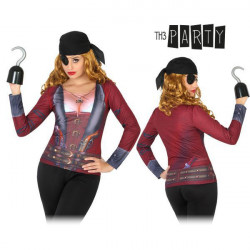 Adult T-shirt Th3 Party 8256 Female pirate