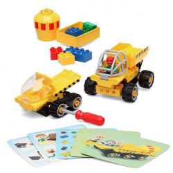 Jogo de Construção Junior Knows 1280 (38 pcs)