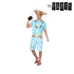 Costume per Adulti Hawaiano M/L