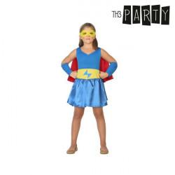 Costume per Bambini Supereroina 7-9 Anni