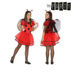 Costume for Children Ladybird 5-6 Years