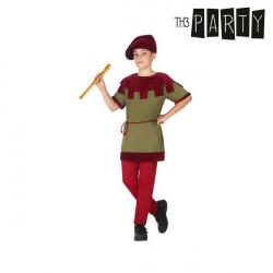 Costume per Bambini Giullare 10-12 Anni