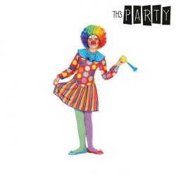 "Costume for Children Female clown ""10-12 Years"""