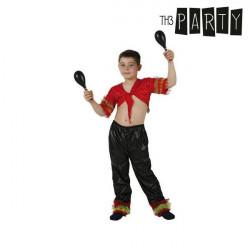 Costume per Bambini Ballerino di salsa 7-9 Anni