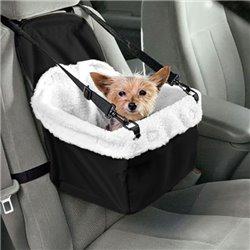 Cesta Transportín de Coche para Perros