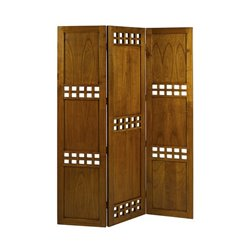 Folding screen Mindi wood Plywood (135 x 2,5 x 180 cm)