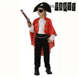 Disfraz para Niños Capitán pirata 5-6 Años