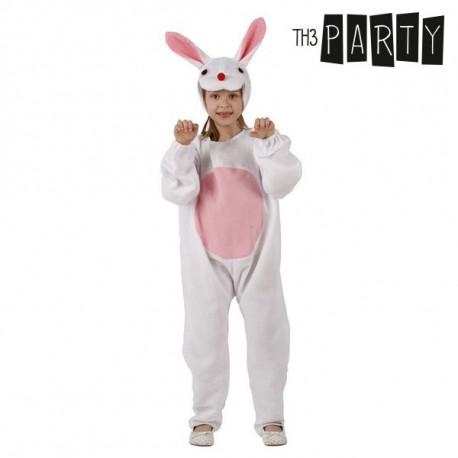 """Costume for Children Rabbit White """"10-12 Years"""""""