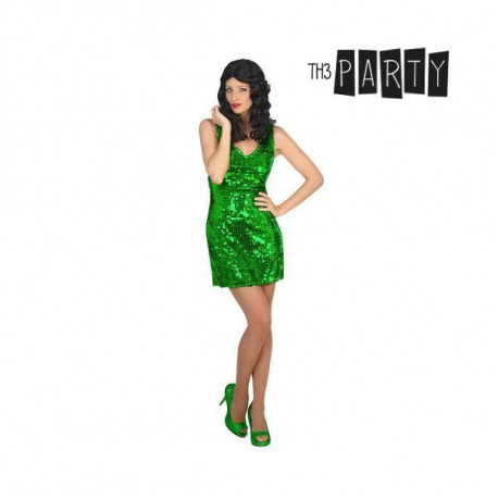 Costume per Adulti Disco Verde M/L