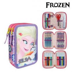 Pochette à crayons triple Frozen 8546 Lila