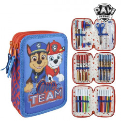 Triple Pencil Case The Paw Patrol 58485 Red