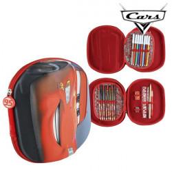 Dreifaches Federmäppchen Cars 93493 Rot