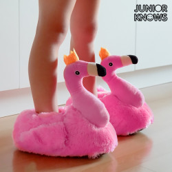 Junior Knows Flamingo Children's Slippers 33-34