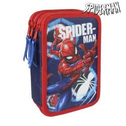 Dreifaches Federmäppchen Spiderman 3561