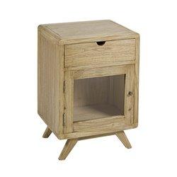 Nightstand Mindi wood Plywood (45 x 35 x 65 cm) Natural
