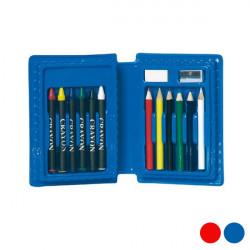 School Case (14 pcs) 149710 Blue