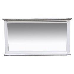 """Espelho Cora Madeira """"60 x 60 x 6 cm"""""""