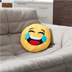 Cuscino Emoticon Risata