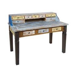 Desk Vintage Solo Wood (135 X 75 x 100 cm)