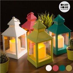 Fanale con Lampada a LED Verde Pistacchio