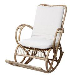 Cadeira de baloiço (136 x 95 x 70 cm) Rotim