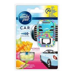 Ambientador Para Automóveis Fruta Tropical Ambi Pur (7 ml)