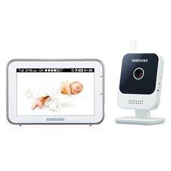 Samsung SEW-3042W monitor de vídeo de bebé 274,32 m Radio Preto, Prateado, Branco