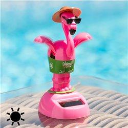 Flamingo Solar com Movimento