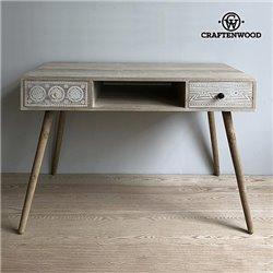 Schreibtisch Paulonia-holz (110 X 55 x 75 cm)
