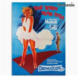 Locandina Marilyn Monroe The Seven Year Itch Homania