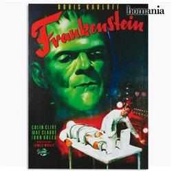 Frankenstein Leinwanddruck 50 x 70