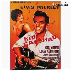 Cartel de Cine Elvis Presley Kid Galahad Homania