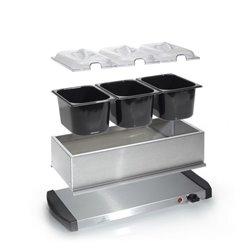 Tristar BP-2979 máquina para aquecer comida 200 W Preto, Inox