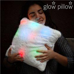 Almofada que brilha com LED