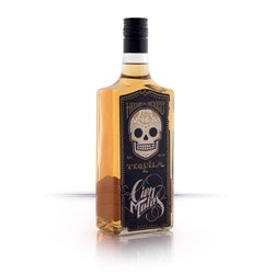 Cien Malos Gold Tequila