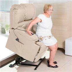 Poltrona Relax Alzapersona con Massaggio Cecotec 6012