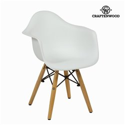 Child's Chair ABS White by Craftenwood