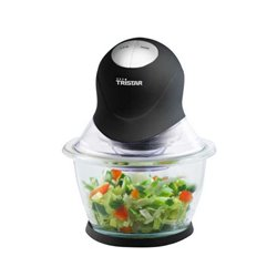 Tristar BL-4014 processador elétrico de alimentos 1 l Preto, Transparente 300 W