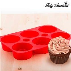 Moule en silicone pour Cupcakes Fourés Tasty American