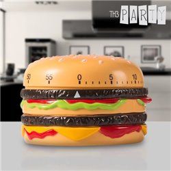 Temporizador de Cozinha Hambúrguer