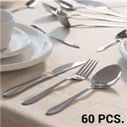 Stainless Steel Cutlery Set (60 pieces)